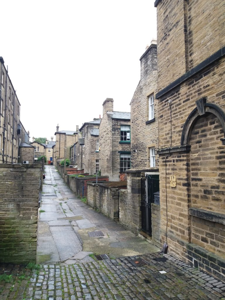 backsteets of Saltaire