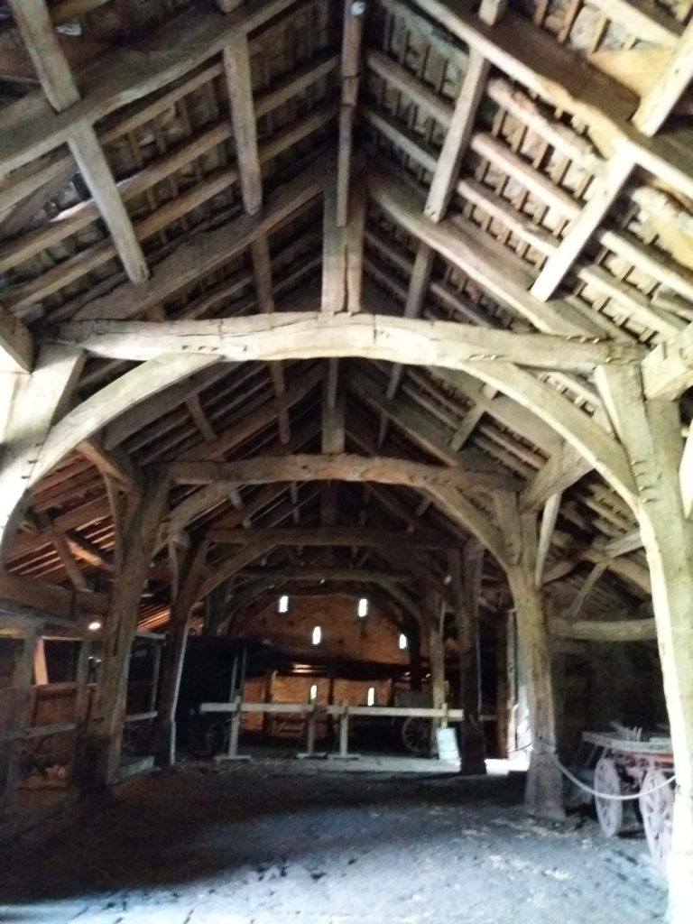 The Great barn at Riddlesden