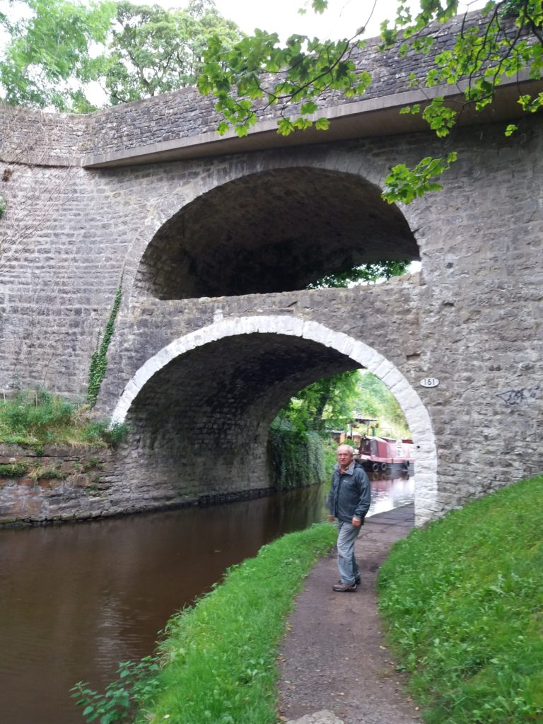 double bridge at East Marton