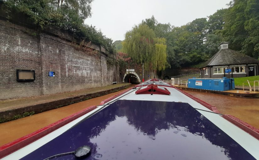 Haring through the Harecastle tunnel