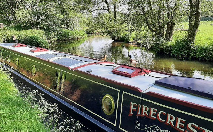 Cruising Statisitics for June for Narrowboat Firecrest